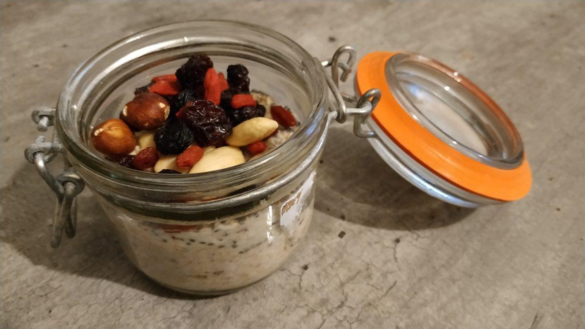 Porridge froid – Recette simple et rapide
